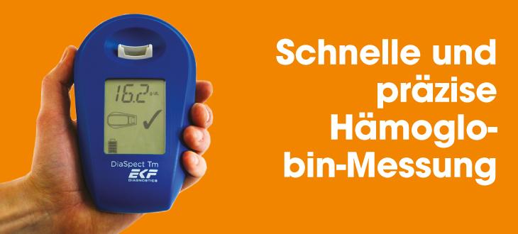 DiaaSpect-tm-Hämoglobin-Messung