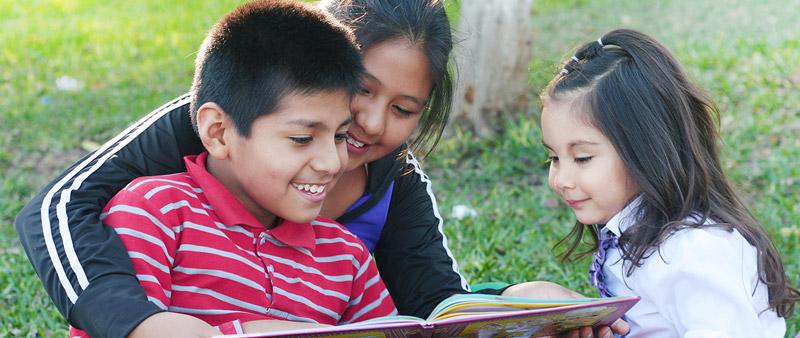 Schulkinder Peru
